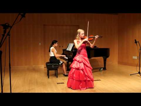 Margaret Ivory - Beethoven Violin concerto in D major, Op. 61, 3rd movement