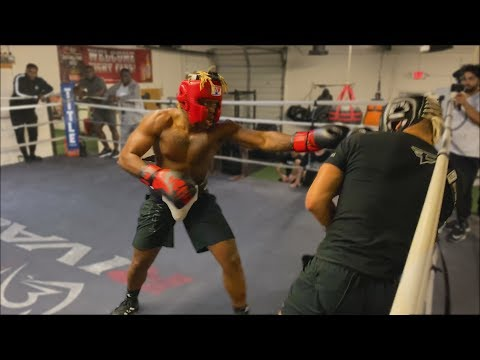 KSI Knocks DOWN FaZe Sensei.. (FULL SPARRING FOOTAGE)