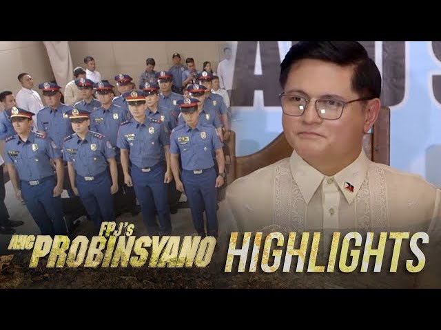 Oscar makes Cardo and Vendetta part of PNP   FPJ's Ang Probinsyano