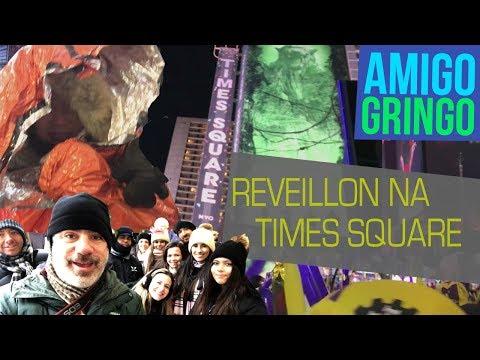 REVEILLON NA TIMES SQUARE: SÓ PARA BABACAS (ft: Eric, Vanessa, Patrícia e o Inimigo Gringo)
