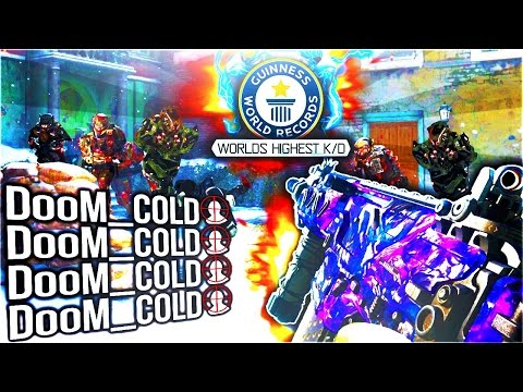 BO3 WORLD RECORD STATS! HIGHEST BLACK OPS 3 K/D & W/L in BO3 MULTIPLAYER Call of Duty GAMEPLAY LIVE