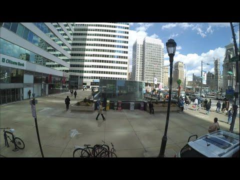 Philadelphia to New York City - FULL RIDE TIMELAPSE [HD]