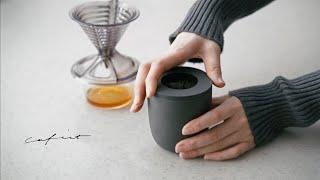 【Vlog】コーヒーかすの再利用に、MARNAのコーヒー器具。手抜きランチをごちそうに【コーヒーのある暮らしと日々】
