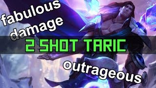 PBE: The fabulous 2-Shot AD Taric (Rework) | League of Legends
