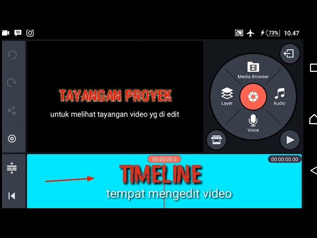 tutorial edit video di android | tutorial menambah teks dan musik