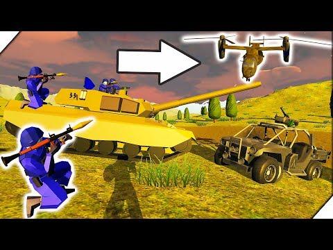 ВОЙНА НА ЧУЖОЙ ПЛАНЕТЕ - Игра Ravenfield Битва солдатиков в РЕВЕНФИЛД