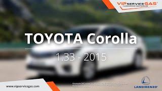 Обзор ГБО на Toyota Corolla 1.6 - 2015 - Landi Renzo (ГАЗ на Тойота Корола) VIPserviceGAS Харьков