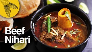 Beef nihari recipe—velvety beef or mutton shank stew—perfect for winters