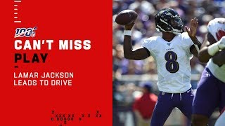 Lamar Jackson Leads Ravens Downfield for a Mark Andrews TD!