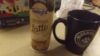 International Delights instant latte test.