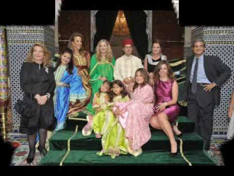 mariage Anissa Lehmkuhl & prince My Ismail (photo)