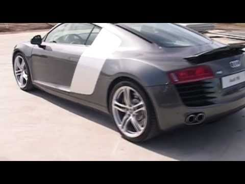 Audi R8 2007  Superblast in Audis Stunning R8 Supercar