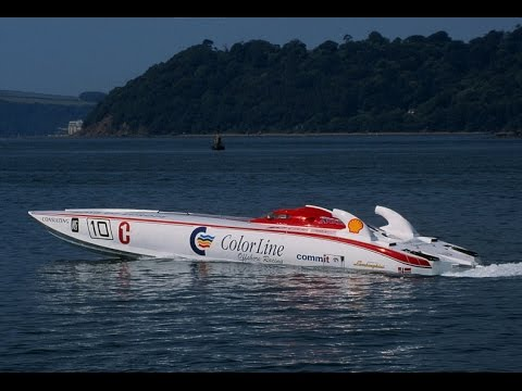 Class 1 Arendal 1998 Offshore Powerboat Championship Norwegi