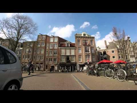 Biking the Center of Amsterdam 2016