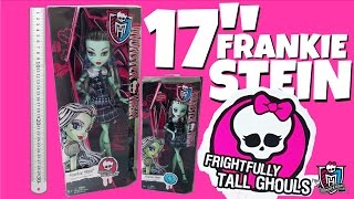17 inch Frankie Stein Frightfully Tall Ghouls Monster High