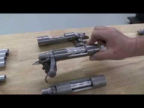 How to flute a Remington 700 bolt.