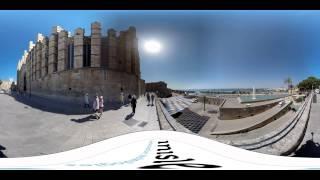Palma de Mallorca - Video 360 | Inisle(Video 360 del recorrido por los lugares más emblemáticos del casco histórico de Palma de Mallorca. #video360 #Tecnología #Mallorca #Baleares Inisle ..., 2015-06-25T11:58:38.000Z)
