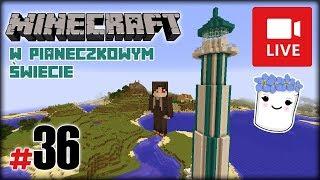 """[Archiwum] Live - Minecraft w Pianeczkowym świecie (19) - [1/2] - """"Farma AFK do łowienia"""""""