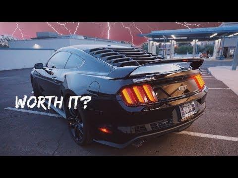 $95 GT350R Spoiler Vs. $1,000 Spoiler - Mustang GT