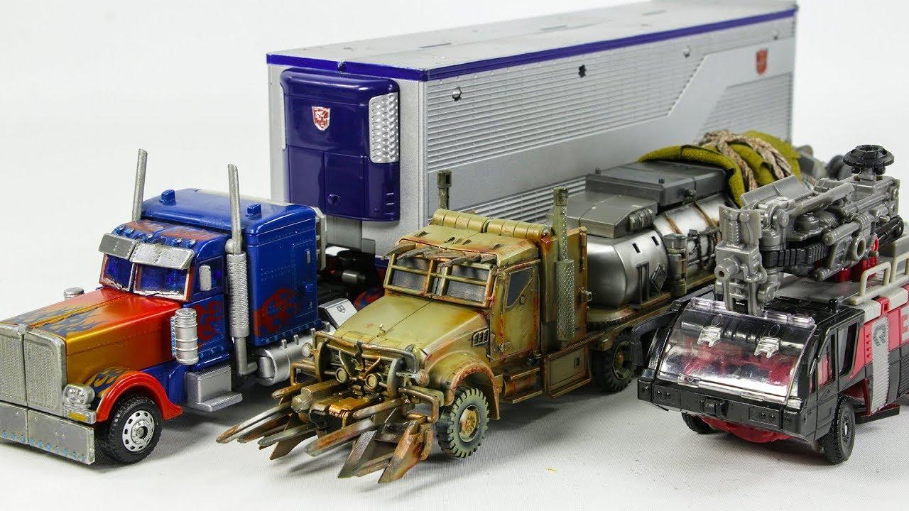 Transformers Movie 3 Dotm Megatron Sentinel Prime Optimus ...
