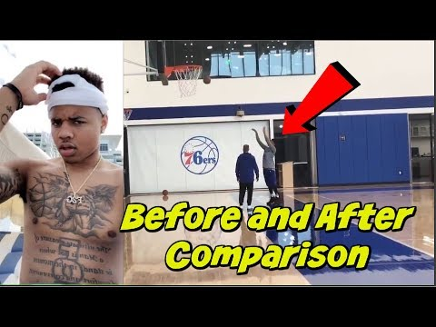 Markelle Fultz Shot Before and After Comparison - (MAKING JUMPERS AGAIN)