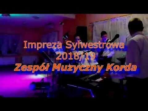Impreza Sylwestrowa 2018/19 Z Zespołem Muzycznym Korda (Swiętokrzyskie)