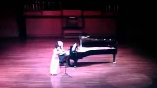 Schubert - Fantasie for Violin and Piano D934 - Ayako Miyashita, violin