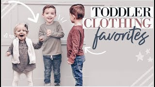 TODDLER CLOTHING FAVORITES | How I Save $$$ On Kids' Clothes | Tips and Tricks for boys and girls