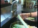Leek Soup Recipe : Prepare Leeks for Leek Soup
