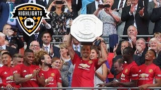 Manchester United Vs Leicester City 2-1 Full Match Highlights Community Shield 07/08/2016