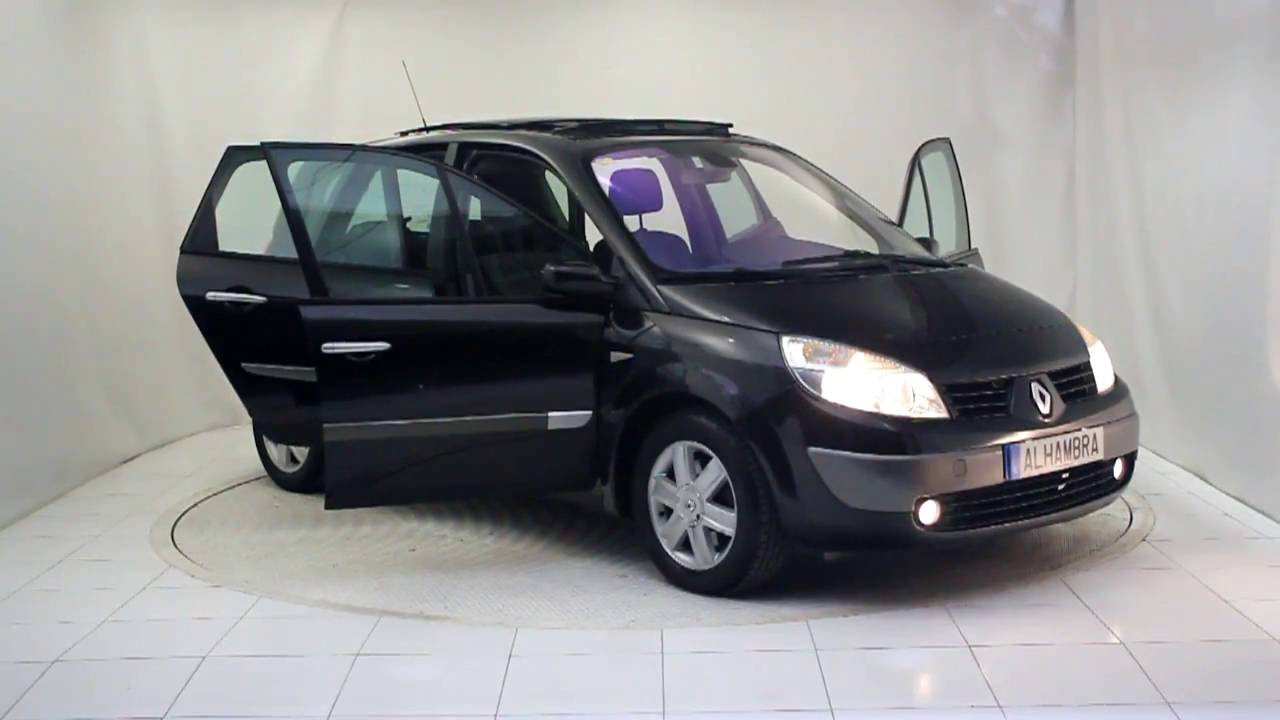 renault grand scenic luxe privilege 1 9dci 2005 autom viles alhambra youtube. Black Bedroom Furniture Sets. Home Design Ideas