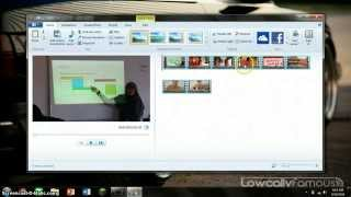 Membuat video menggunakan Movie Maker Windows essential 2012