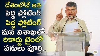 ChandraBabu Naidu 2MW Grid Interactive Floating Solar Power Project Final | TDP | Telugu Insider