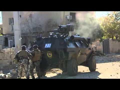 Nusaybin'de Hendek Operasyonu Komandolar Sokağa In