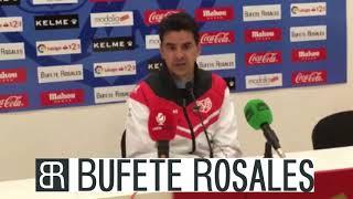 Rueda de prensa de Míchel previa al Rayo Vallecano - SD Huesca