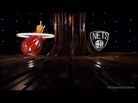 NBA Playoffs - Miami Heat vs Brooklyn Nets - Game 3 - 1st Half - Live 14 - HD
