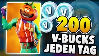 How to get 200 V BUCKS every DAY for free | Fortnite Save the World