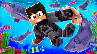 VIDA DE SHARKBOY POR 1 DIA NO MINECRAFT!! *incrível* ‹ DONAT3LO ›
