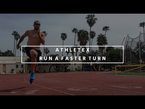 Sprint Training - Run A Faster Turn for the 200m & 400m Dash