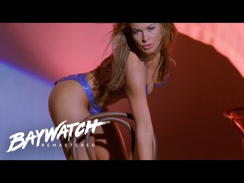 Lani McKenzie (Carmen Electra) Strip Teases In Front Of Cody | Baywatch Remaster
