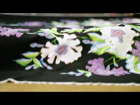#DVFCRAFT: How The Curzon Floral Print Is Made