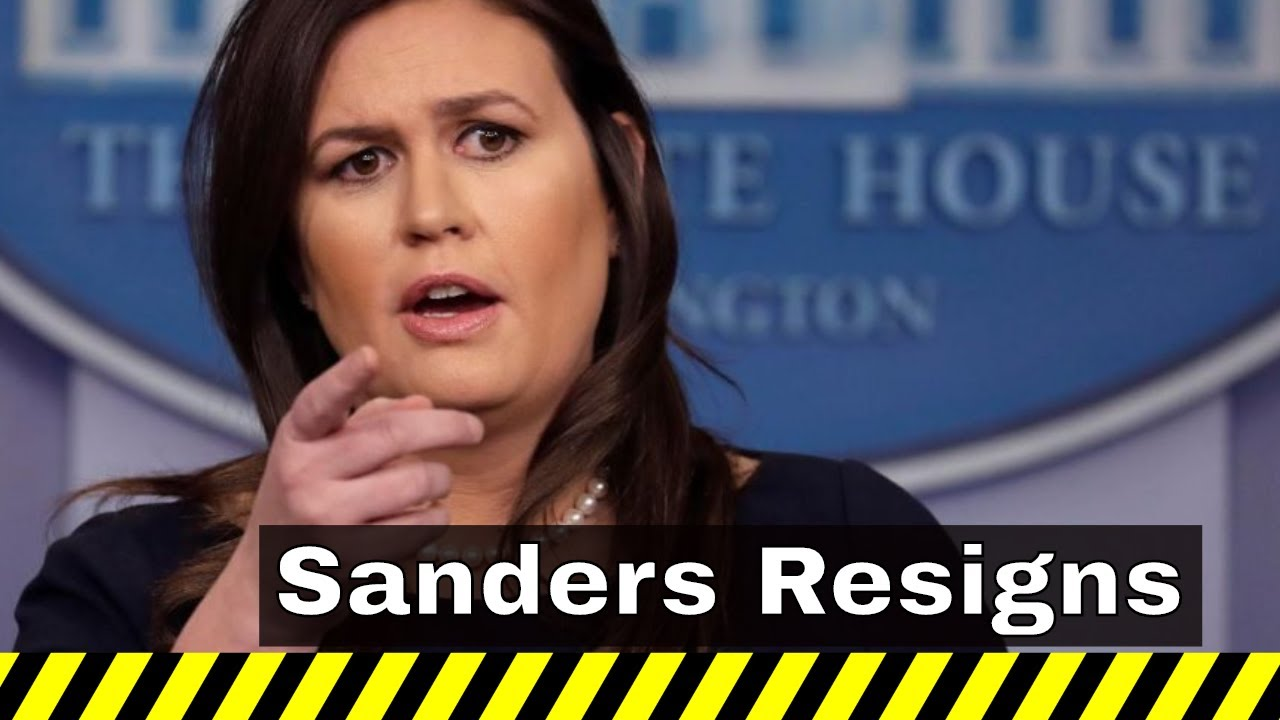 Headlines With A Voice - Sarah Sanders is Leaving the White House