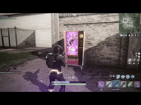 Fortnite RPG/SCAR Vending Machine In GREASY GROVE! - Fortnite Battle Royale EPIC Vending Machine