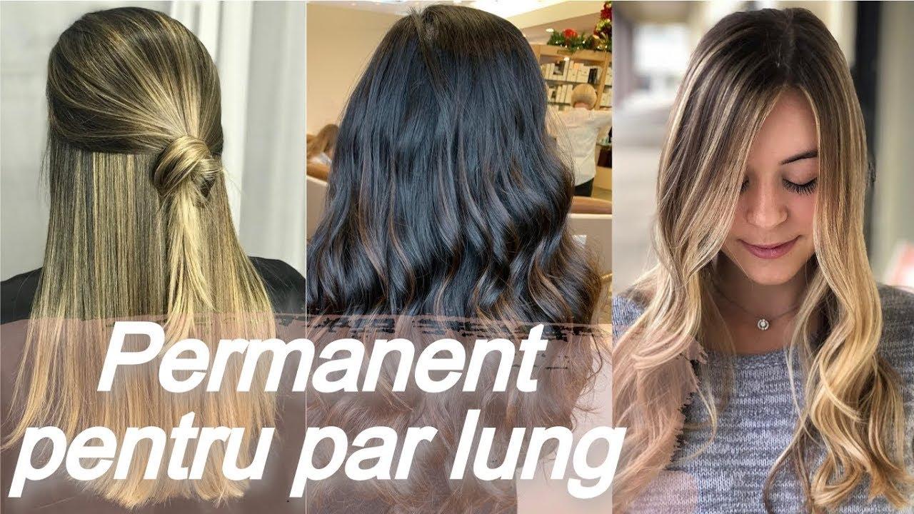 Tipuri De Permanent Pentru Par Lung Youtube