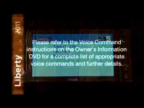 How To Use Chrysler's voice command