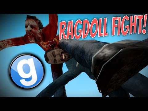 Garry's Mod Ragdoll Fight Funny Moments