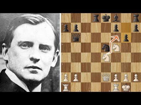 Alekhine's Three different Mates. That is too much!
