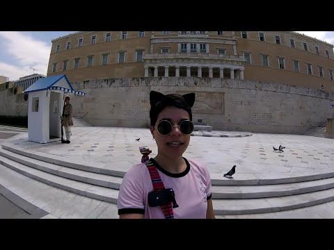 Vlog 16: Travel Vlog Greece 10: Touring Athens