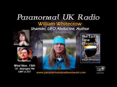 Paranormal UK Radio talk with William Whitecrow