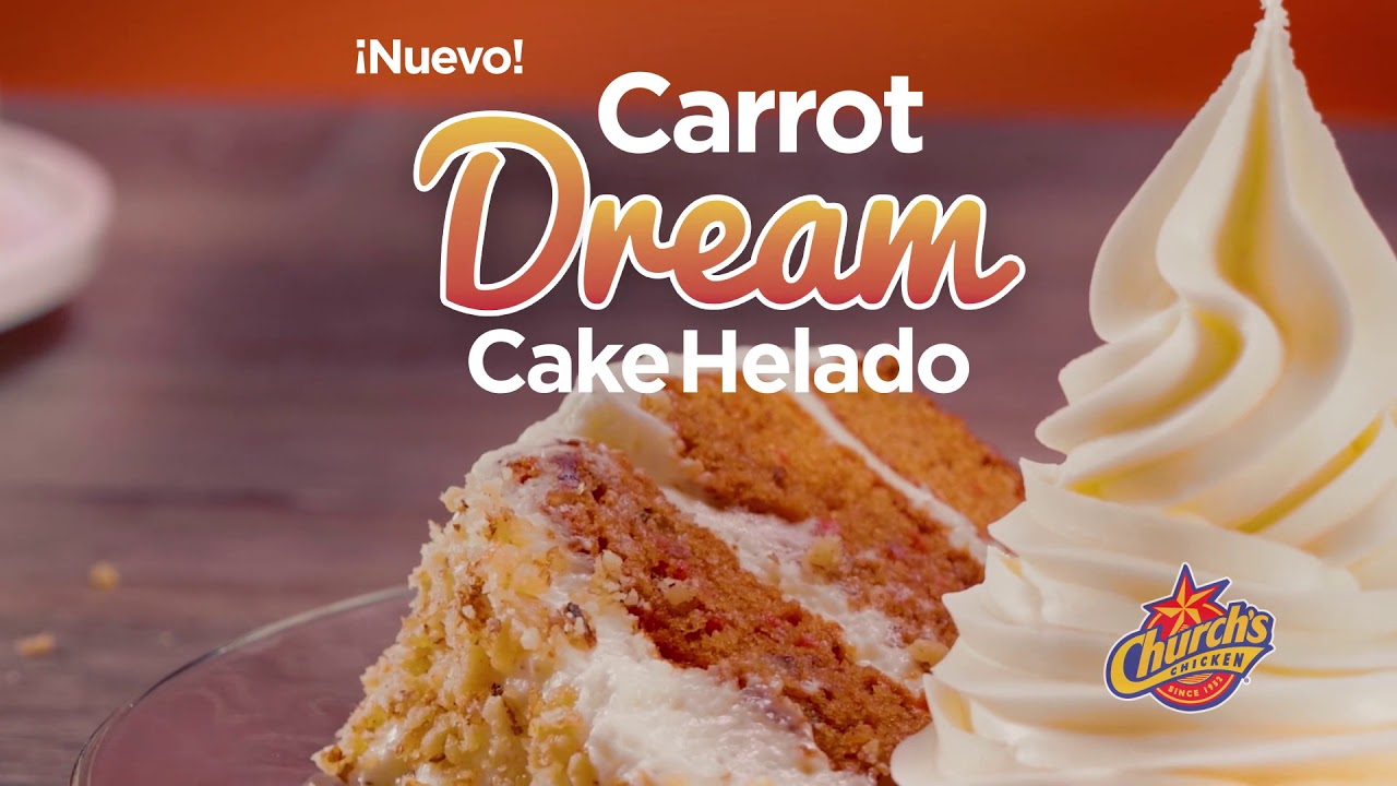 Carrot Dream Cake Helado